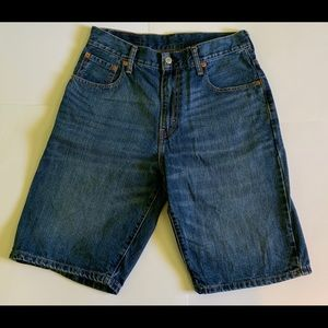 Levis 569 Mens Jean Shorts Loose Straight Size 29